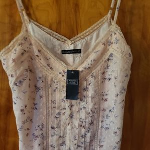 NWT Abercrombie & Fitch Floral Cami